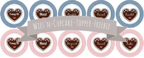 Gebrannte Mandel Cupcakes und Freebie