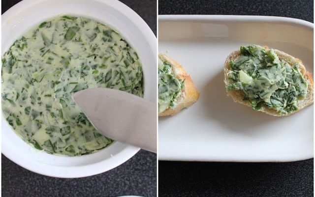 Ruccola Knoblauch Butter