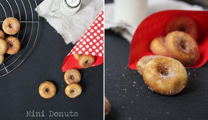 Mini Donuts mit Zucker & Zimt