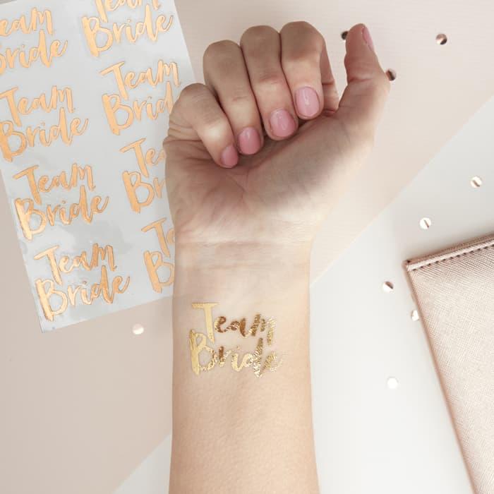 Tattoos Team Bride Junggesellinnenabschied
