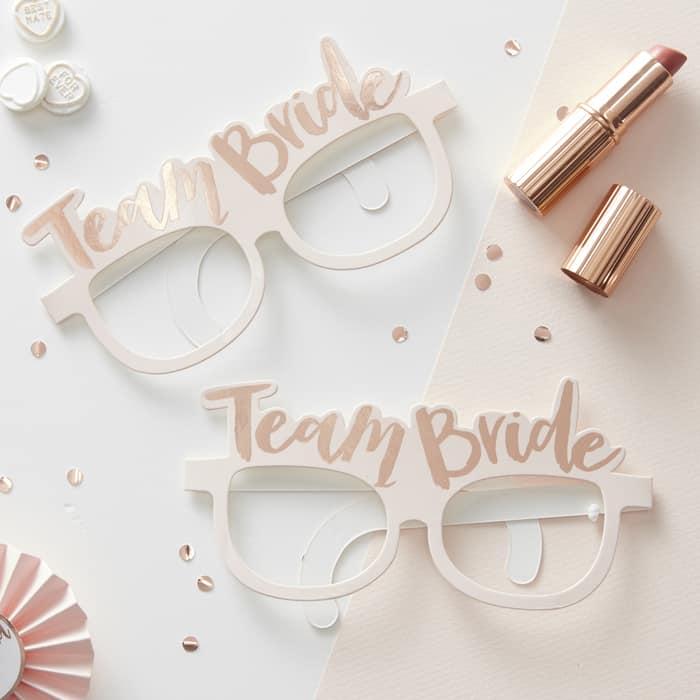 Brillen Team Bride Junggesellinnenabschied