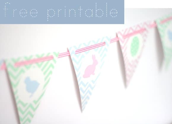 Girlande free printable