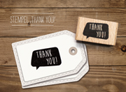 cats - Stempel Thank You