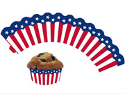 Cupcake Wrapper USA