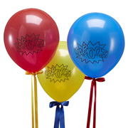 Super Hero Comic Ballons