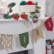 Christmas Patterns - Girlande