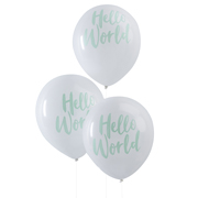 Hello World Ballons