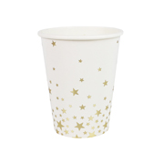 Metallic Star - Becher gold