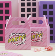 Pop Art Girl Partyboxen