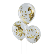 Pick & Mix - Ballons Konfetti gold