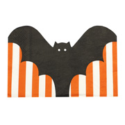 Pumpkin Party - Servietten Fledermaus