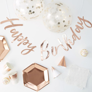 Pick & Mix - Partyset Rosegold
