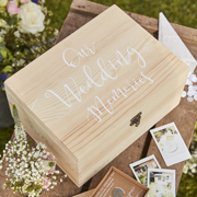 Rustic Country Erinnerungsbox aus Holz