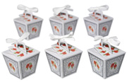 Mini Partybox Floral 6er Set
