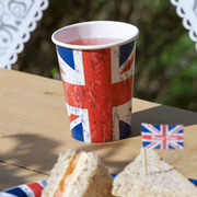 Becher British Union Jack