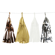 Tassel Girlande Metallic