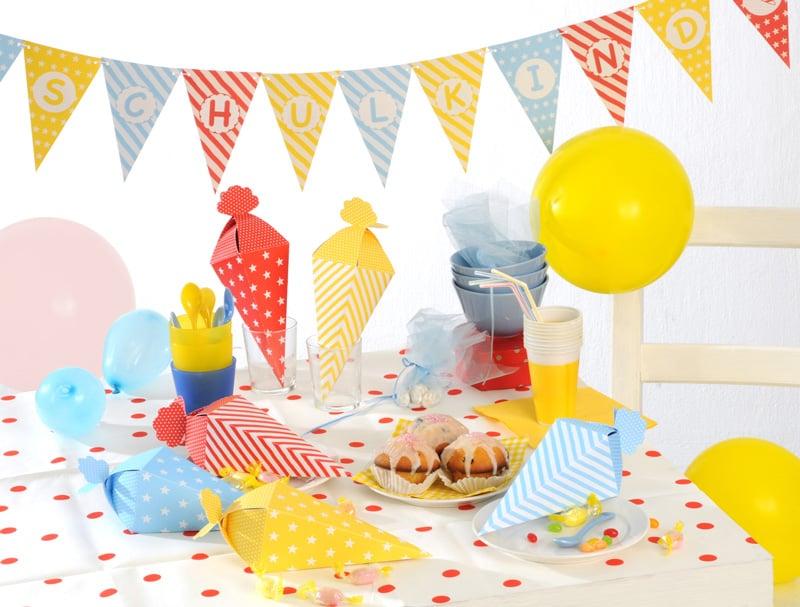 tolle deko zum schulanfang party deko blog von party