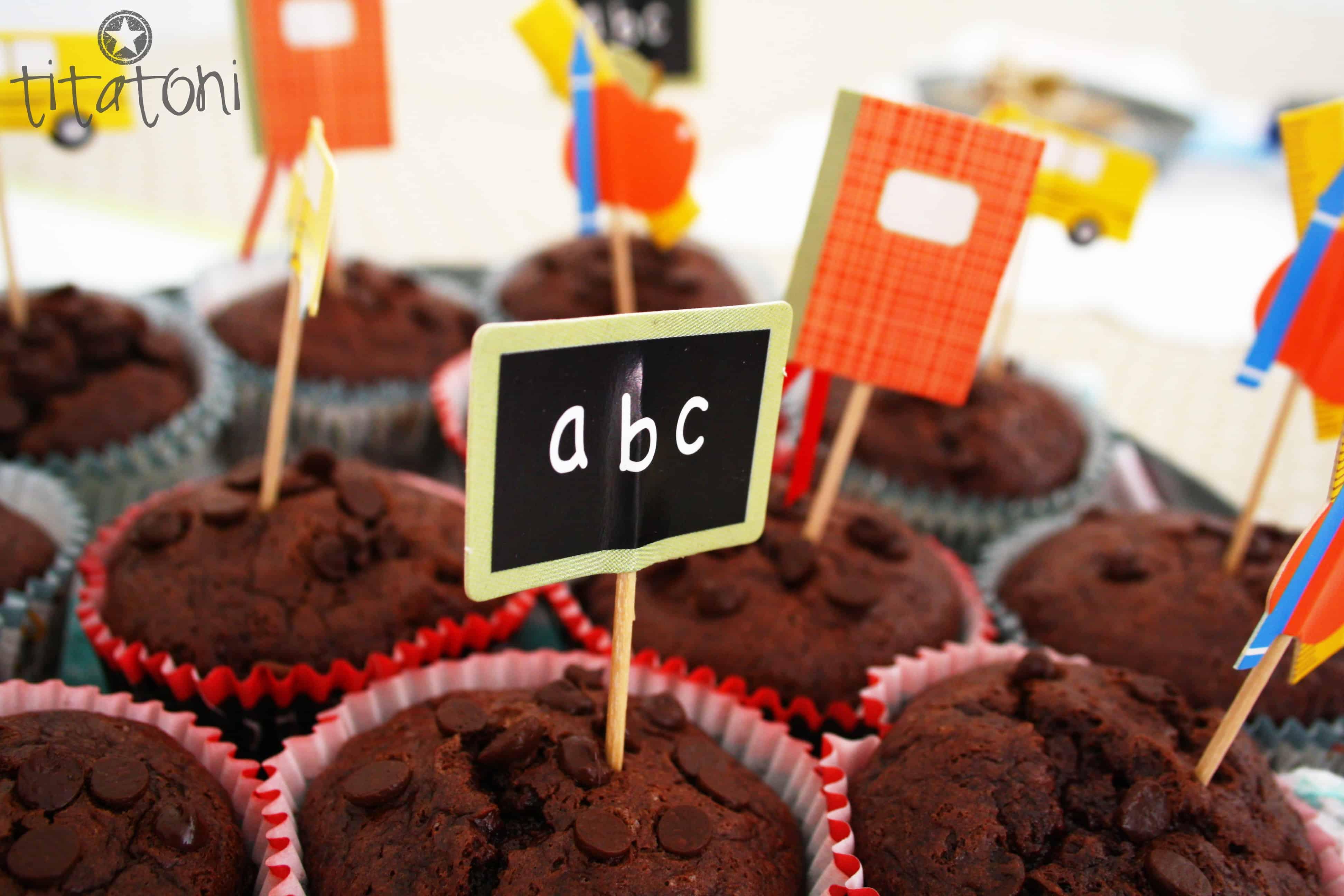 Einschulung Cupcakes