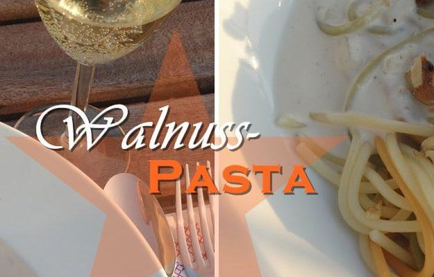 Last Minute Walnuss Weihnachts Pasta