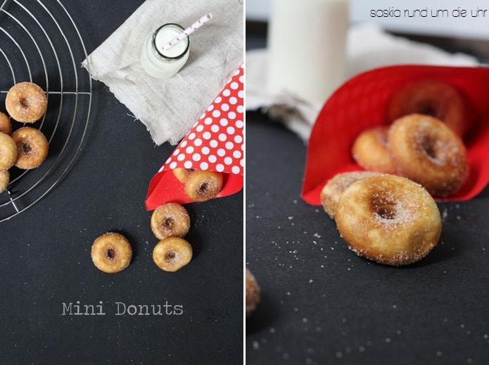 Mini Donuts für Donut Maker mit Zucker & Zimt