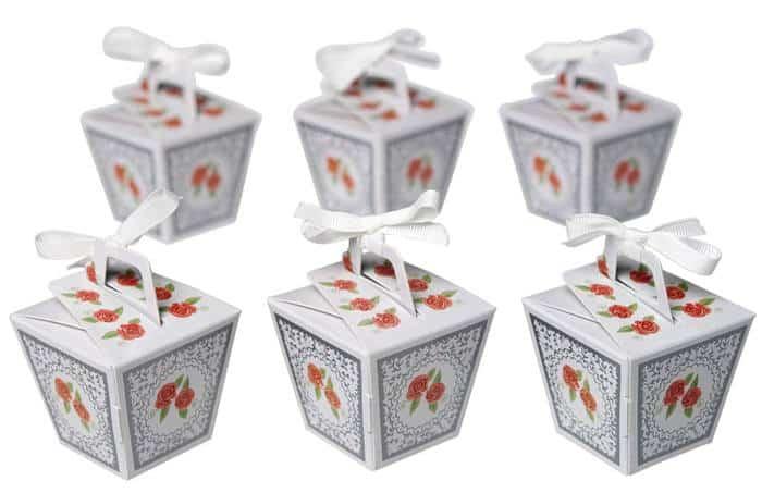 Süße Geschenkboxen für Pralinen