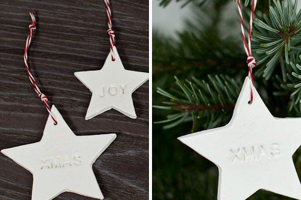 Geschenkanhänger zu Weihnachten Basteln