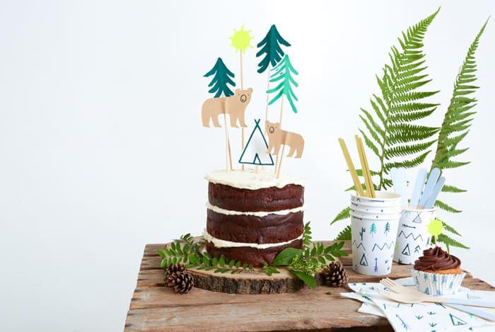 Cake Topper Adventure Abenteuer
