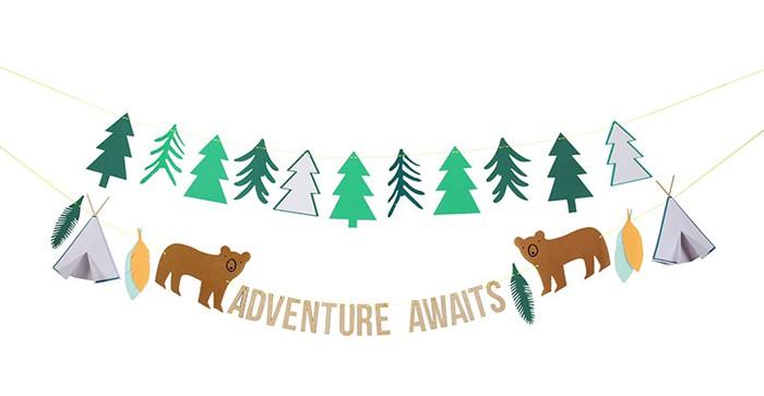 Girlande Adventure Abenteuer
