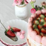 Erdbeer Tiramisu in einer Torte