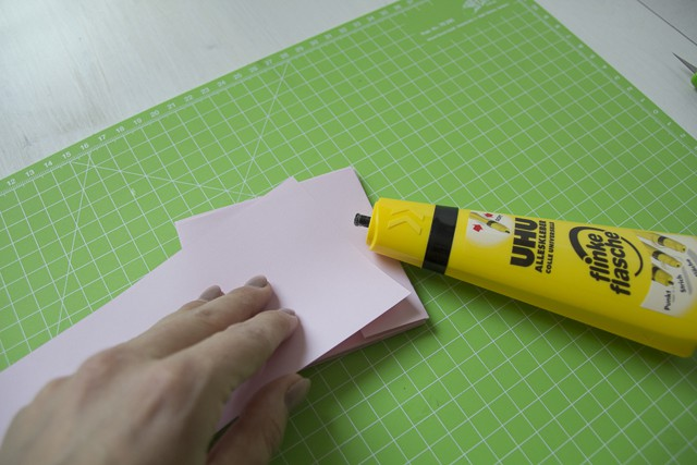 Muttertag DIY Leporello