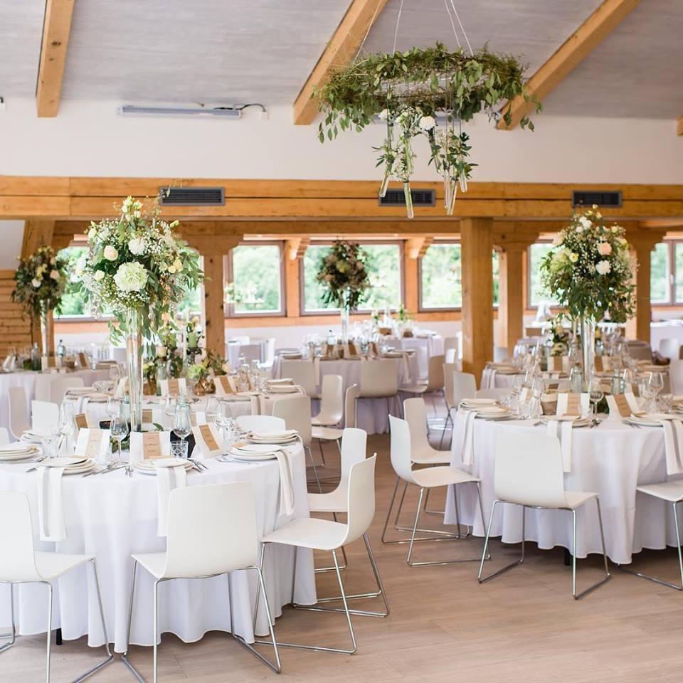 Blumen Centerpiece zur Hochzeit