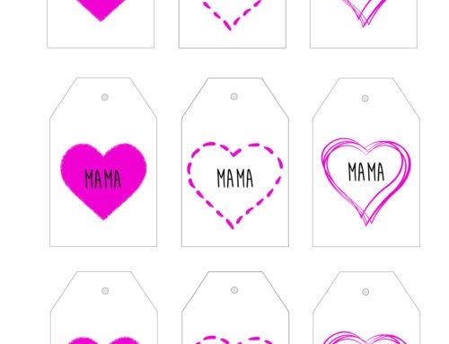 Muttertagskarten zum Ausdrucken > Kostenlos Herunterladen