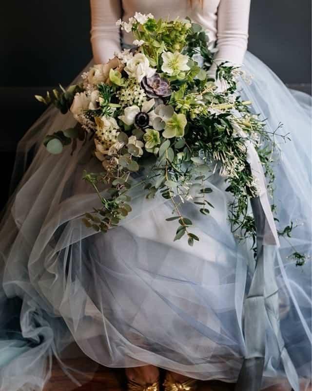 Romantischer Brautstrauß