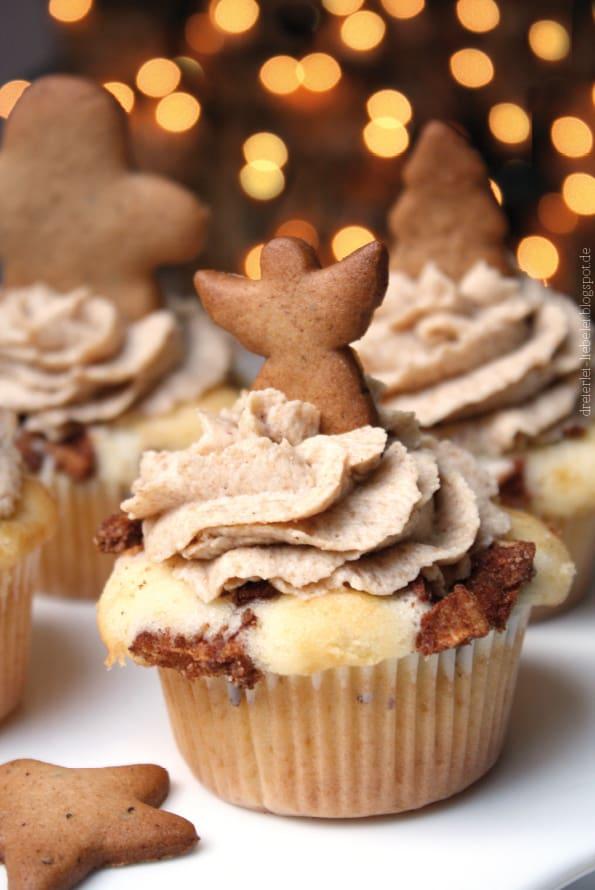 Apfel Spekulatius Cupcakes