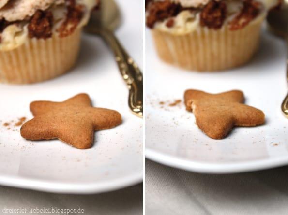 Keks wird gegessen