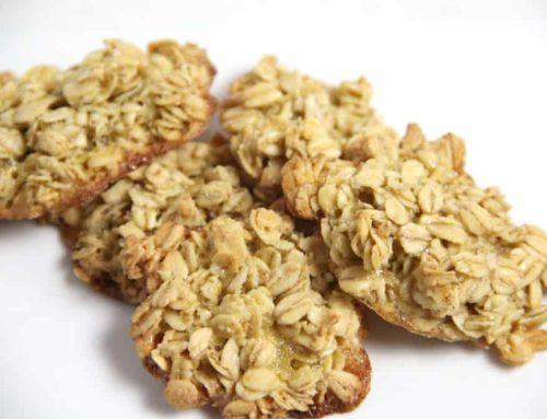 Haferflockenplätzchen Rezept ohne Mehl