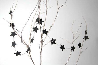 Sternengirlande Basteln