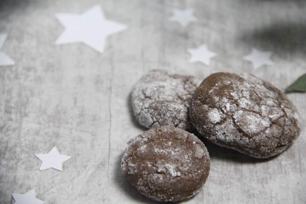Schokoladenplätzchen mit Zartbitterschokolade