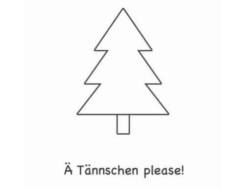 Süße Weihnachtskarten zum Ausdrucken