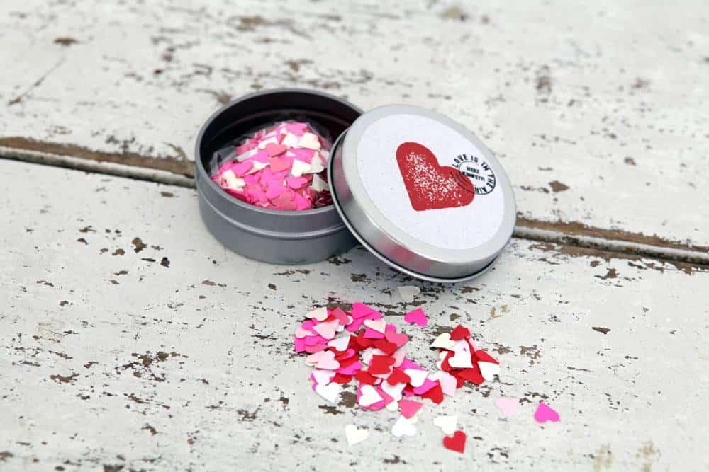 Süße Herzdeko zum Valentinstag