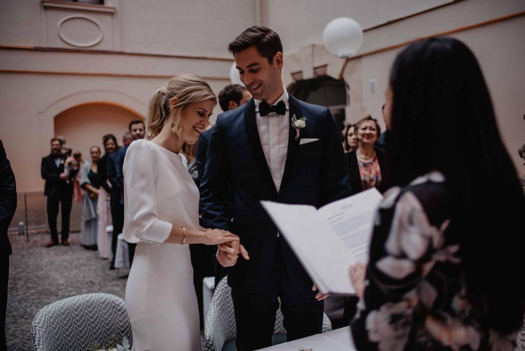 Eheversprechen bei einer freien Hochzeit