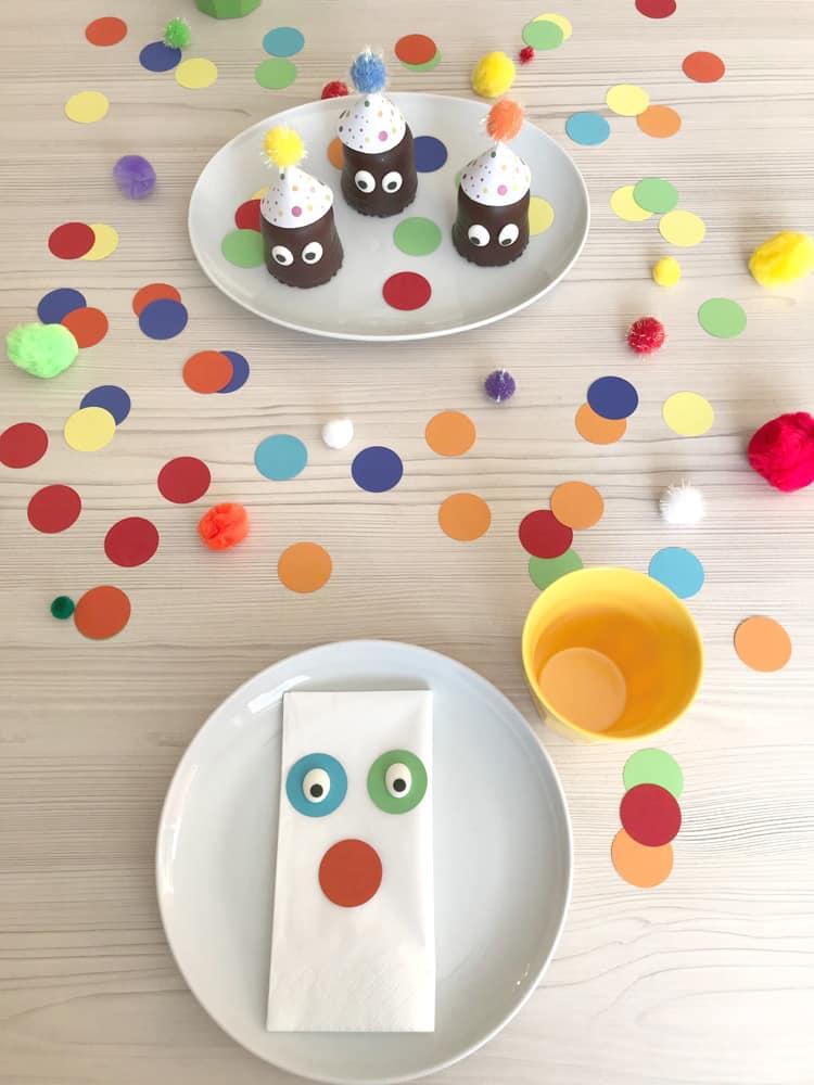 Tischdeko Fasching Ideen