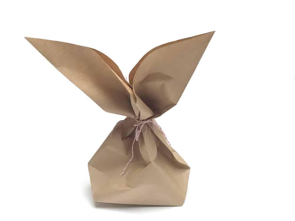 Geschenkverpackung Ostern