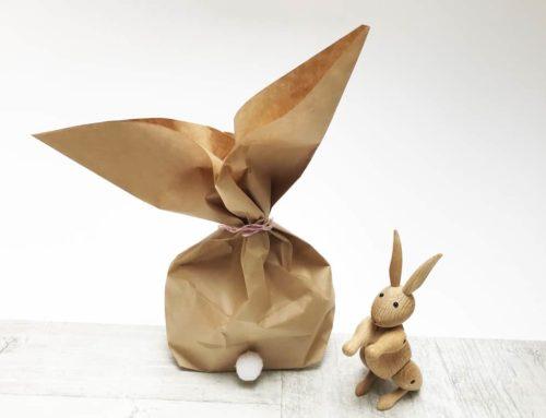 Süße Ostertüten Basteln – Osterhasen aus Papiertüten
