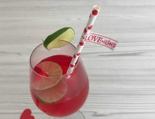 Valentinstag Cocktail alkoholfrei