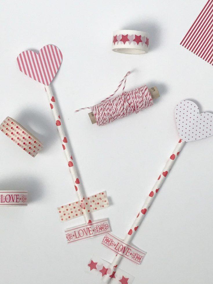 Valentinstag Tischdeko: Armors Pfeil