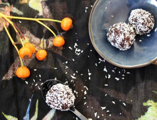 Energy Balls Rezept mit Feige & Paranuss