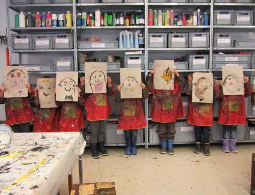 Kreativ Kindergeburtstag im Kinderkunsthaus München