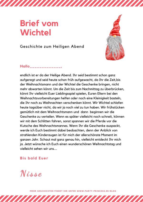 Nisse's Weihnachtsbrief