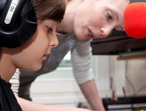 Feierwerk München: Radio Kindergeburtstag im Tonstudio